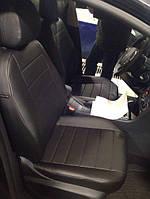 Авточехлы модельные чехлы Эко-кожа Комбинированные Citroen С4 Ситроен С4  от 2010г, фото 1