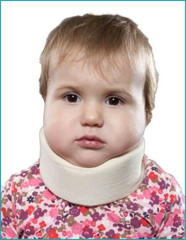 Ортопедический воротник детский 4,5см, (шина Шанца)