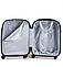 Чемодан пластиковый среднего размера Wings 310 1660 Midi розовый матовый, фото 3