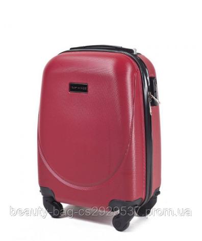 Чемодан пластиковый экстра маленького размера Wings 310 1451 Extra Mini красный