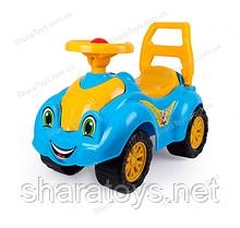 Детский желто-голубой толокар