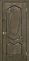 Дверь межкомнатная шпонированная Оливия ПГ дуб шервуд