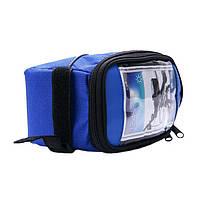 ТОП ЦЕНА! Сумка на велосипед, сумка для телефона, GA-501, велосумка для телефона, сумка на раму велосипеда, сумка для смартфона, велосумка на руль