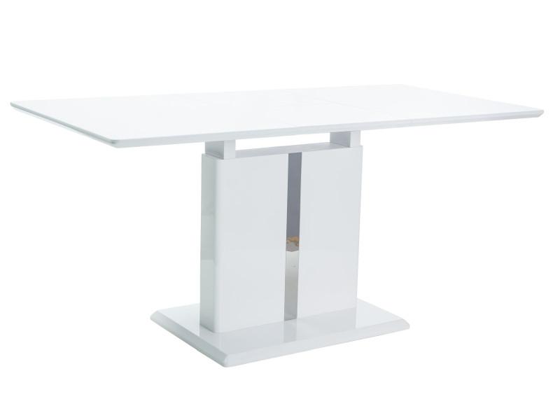 Стол обеденный деревянный DALLAS Signal белый