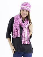 "Комплект шапка и шарф,  ""Лорес"""