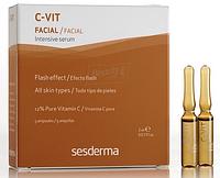 SeSderma C-VIT Интенсивная сыворотка мгновенной красоты 5 ампул по 2 мл 8470001818898