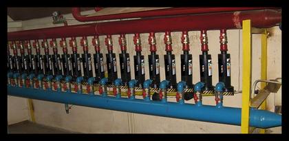 Электродные (электрические) котлы для отопления крупных объектов.