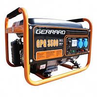 Бензогенератор GERRARD GPG 3500 Е/2,5-2,8 кВт (электрический/ручной старт + аккумулятор)