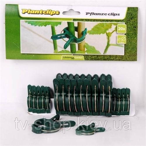 Зажимы  для крепления растений к опоре Plant Clips
