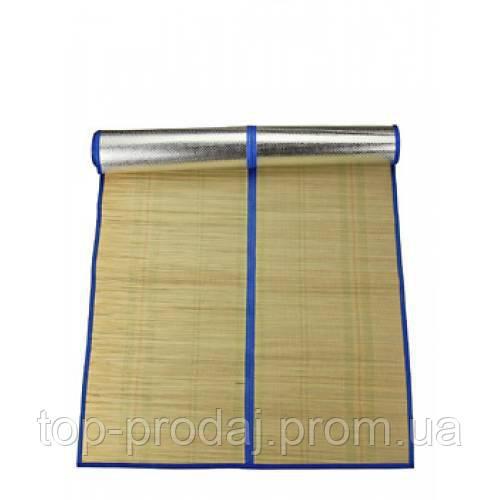 Пляжный коврик солнце отталкивающий, Коврик солома с фольгой для пляжа, Двухсторонний коврик одноместный