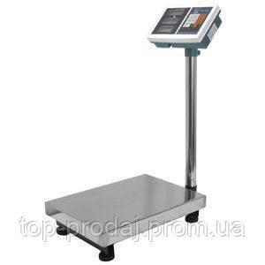 Весы торговые CR 100 kg Усиленные 30X40, Scales CR Metal, Металлические торговые весы, Электронные весы