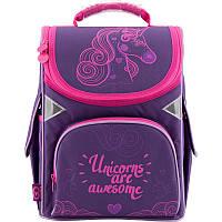 """Рюкзак шкільний каркасний """"GoPack"""" /GO18-5001S-7/ (37712) (1/8)"""