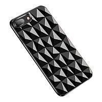 """Бронированный противоударный силиконовый чехол Ringke Air Prism для Apple iPhone 7plus/8 plus (5.5"""") (Черный / Ink black) 586817"""