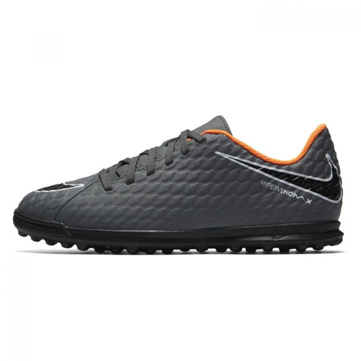 Сороконожки Nike Hypervenom Phantom Club Childrens DkGrey Orange - Оригинал  - FAIR - оригинальная одежда 0d5e08cb6cb