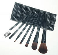 Make Up Me BL-GL-7 Набор кистей 7 шт. Чехол Сияние Камней. Черный