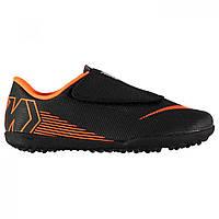 57d2f3b1 Сороконожки Nike Hypervenom Phantom Club Childrens Black/Orange - Оригинал