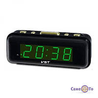LED годинник VST 738 настільний з будильником, 1001071, недорогі електронні годинники, купити електронні годинники, інтернет-магазин годинників, ЛЕД