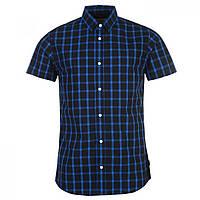 Рубашка Jack and Jones Core Break Short Sleeved Navy/Blue - Оригинал