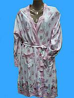 Комплект ночнушка и халат, фото 1
