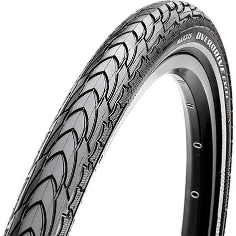 Покрышка Maxxis 26x1.50 (TB58910000) Overdrive Excel, SilkShield/Ref 60TPI, 70a/reflect., фото 2