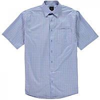Рубашка Fusion Textured Checked Blue - Оригинал