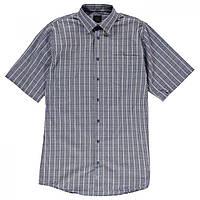 Рубашка Fusion Textured Dobie Overplaid Blue - Оригинал