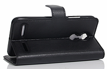 Кожаный чехол-книжка для Lenovo Vibe K6 белый, фото 3