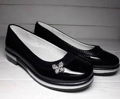 Туфли BI&KI 3630А черные 33-38