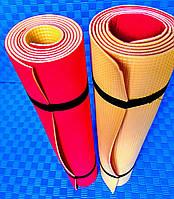 """Спортивный плотный каремат, коврик """"ЛЕТО"""" для занятий танцами , йогой, фитнесом, аэробикой."""