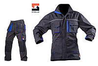 Костюм рабочий с брюками SteelUZ, синяя отделка, фото 1