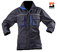 Куртка рабочая  демисезонная SteelUZ с синей отделкой, фото 1