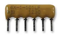 4606X 101 153 Сборка резисторная SIP6 15 кОм 2% 0,2 Вт ТКС100 100 В