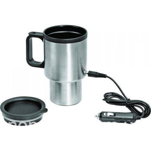 Авто-кружка с подогревом Electric Mug, 350 мл, автомобильная термокружка от прикуривателя (NS)