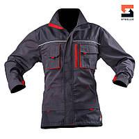 Куртка мужская  рабочая SteelUZ с красной отделкой, фото 1
