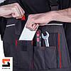 Полукомбинезон рабочий SteelUZ с красной отделкой, фото 10