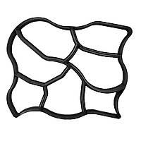 🔝 Форма для садовой дорожки 60x50 см. (Модель C) - дизайн дорожки своими руками | 🎁%🚚, фото 1