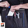 Полукомбинезон рабочий SteelUZ с синей отделкой, фото 10