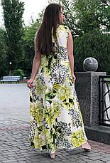 Літнє гарне плаття великих розмірів Мальва, фото 3