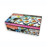 Набор для приготовления суши и роллов 5 в 1 Мидори, цвет -  черный, с доставкой по Киеву и Украине