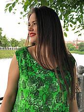 Платье батальное летнее длинное большой выбор расцветок, фото 3