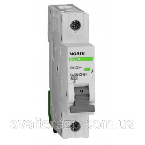 Автоматический выключатель Noark Ex9BN 1P C63 6kA