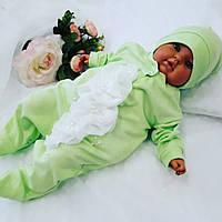 Человечек (салат) + шапочка для новорожденных, фото 1