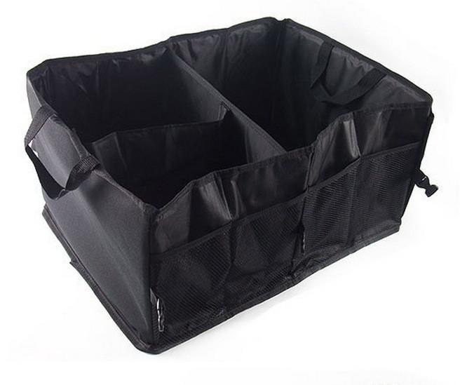 🔝 Органайзер в багажник автомобиля Smart Trunk Organizer - чёрный, с доставкой по Киеву и Украине   🎁%🚚