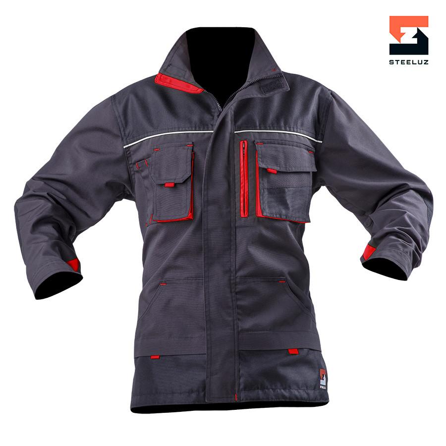 Куртка мужская  рабочая SteelUZ с красной отделкой LT