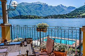 Солнечное лето на берегах итальянского озера - что может быть лучше?
