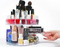 Органайзер для хранения косметики Glam Caddy Глем Кадди, пластиковый, цвет - прозрачный