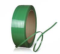 Лента упаковочная полипропиленовая зеленая 16 мм х 0.8 мм