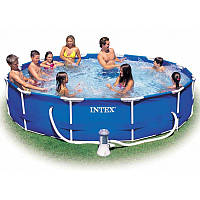 Каркасный бассейн Intex хорошего качества 366-76 см.