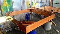 Песочница №1 размер 2.0х2.0х0.25м, фото 1