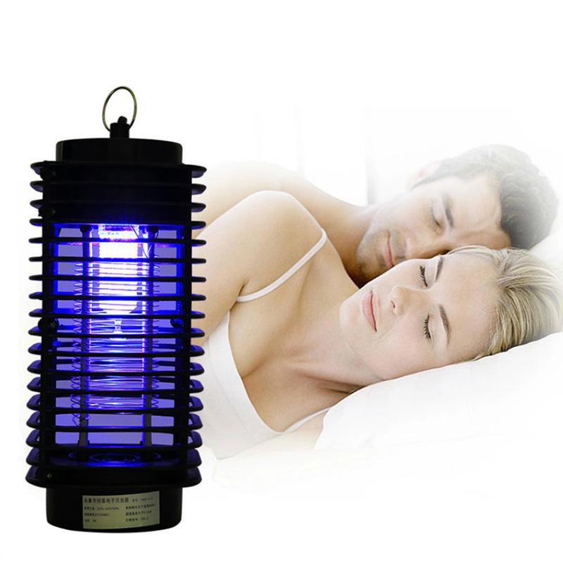 🔝 Ультрафиолетовый уничтожитель насекомых Insect Trap, лампа ловушка для комаров, мошки, мухи | 🎁%🚚